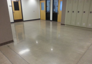 High gloss finish educational facility Des Moines, IA