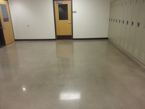 Medium to high gloss floor finish educational facilityMedium to high gloss floor finish educational facility