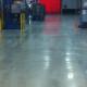 Polished concrete flooring at manufacturing facility Ottumwa, Iowa