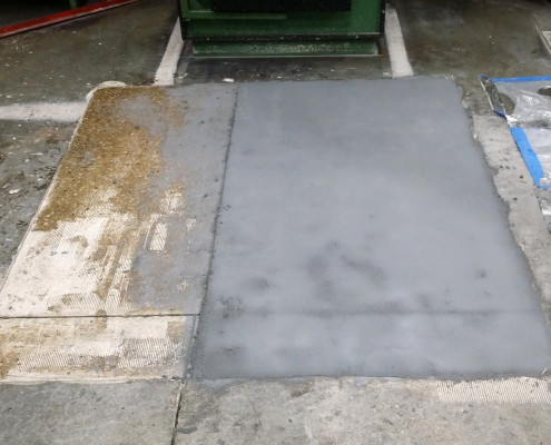 Application of Two Part Epoxy Floor Coating