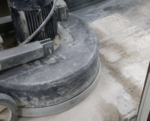 Concrete milling process at Ledford Engineer Co Inc