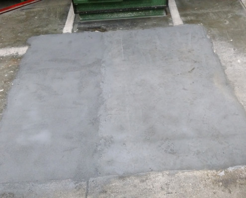 Drying of Two Part Epoxy Floor Coating