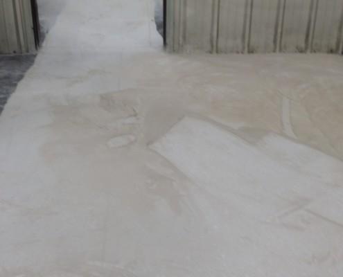 Post concrete milling process