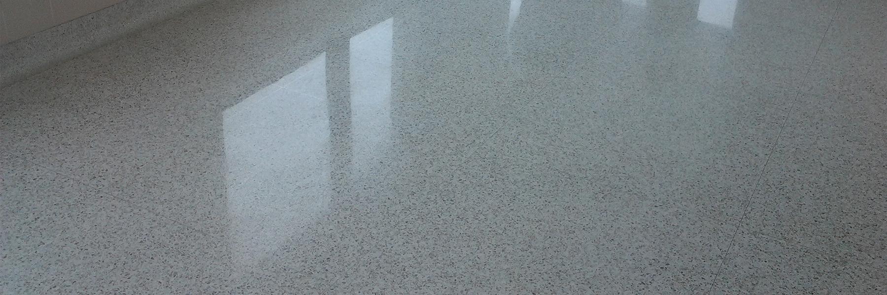 Repolish of Terrazzo flooring-slider