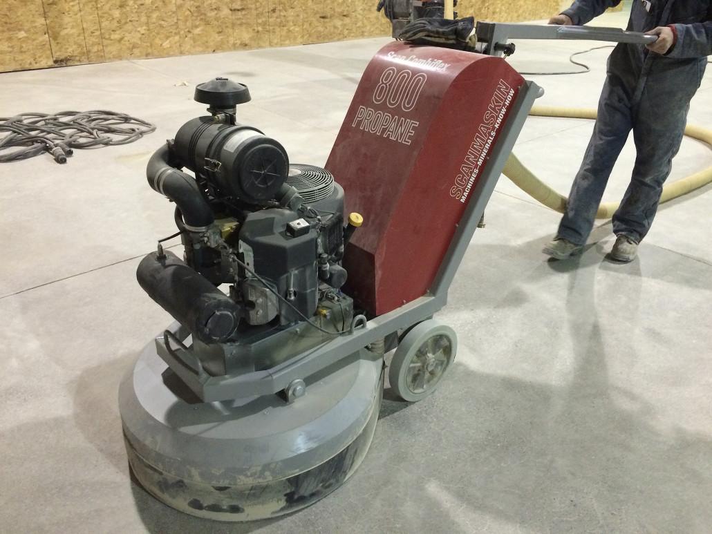 Scanmaskin 800 propane polisher
