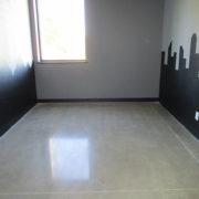 Polished Concrete at CrossFIT in Cedar Rapids, Iowa